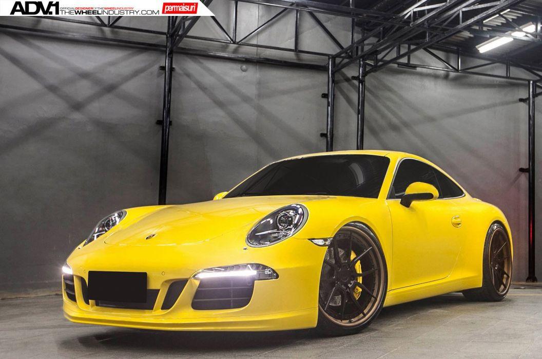 2015 adv1 wheels porsche 991 s cars coupe tuning wallpaper