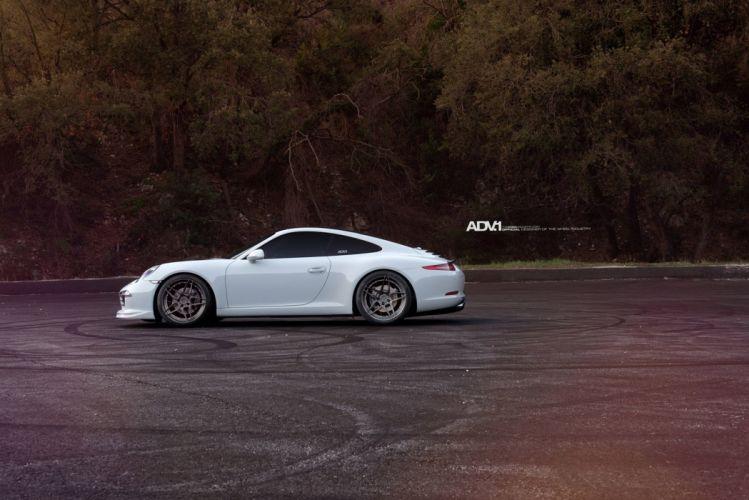 2015 adv1 wheels porsche 991 carrera cars coupe tuning wallpaper