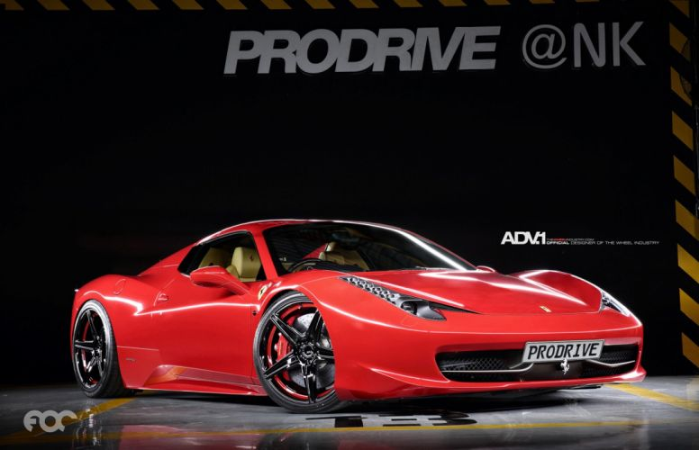 2015 adv1 wheels ferrari 458 italia cars coupe tuning wallpaper