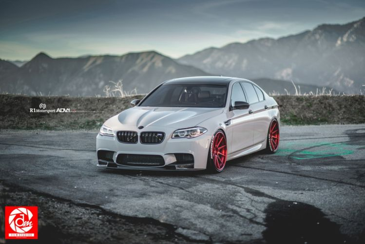 2015 adv1 wheels bmw m5 f10 cars coupe tuning wallpaper
