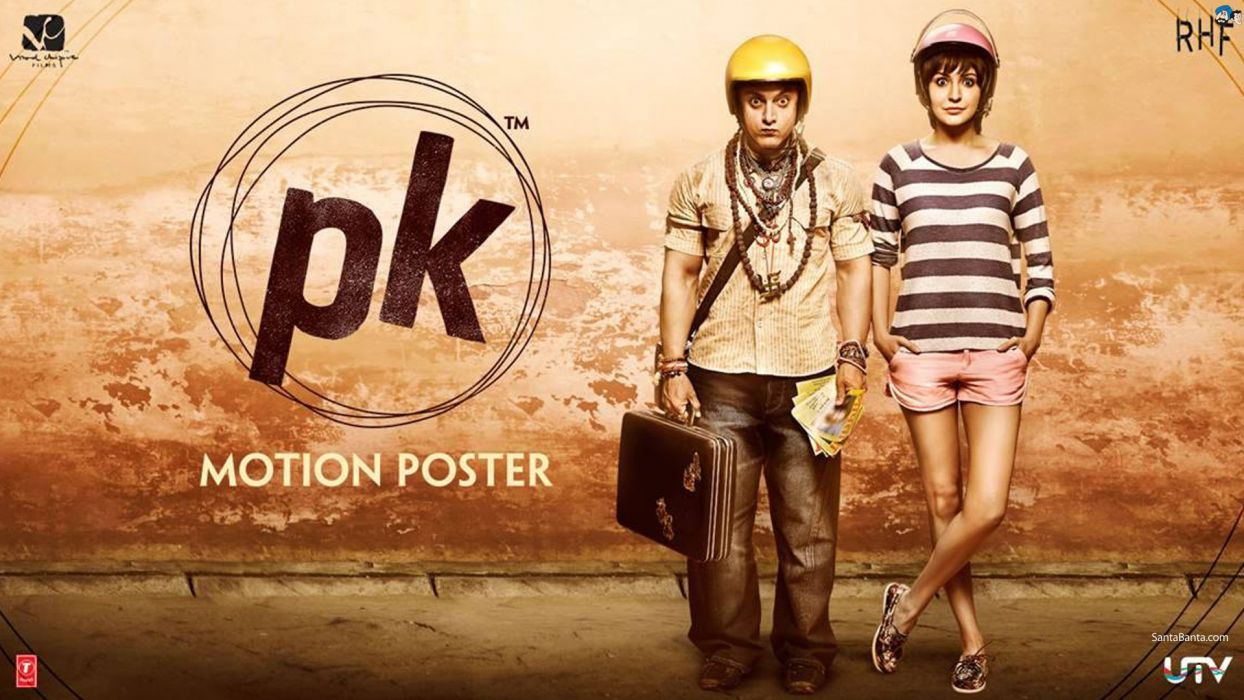 hindistan india movie P K Aamir Khan Anushka Sharma Bollywood wallpaper