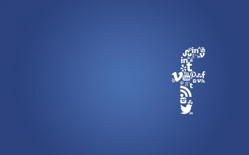 SOCIAL MEDIA computer internet typography text poster fracebook wallpaper