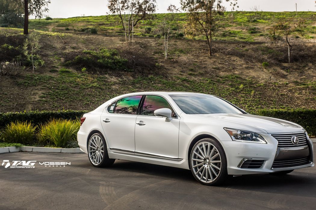 2015 vossen lexus ls cars sedan Tuning wheels wallpaper