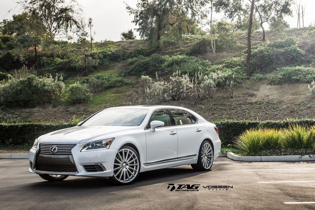 2015 vossen lexus ls cars sedan Tuning wheels wallpaper