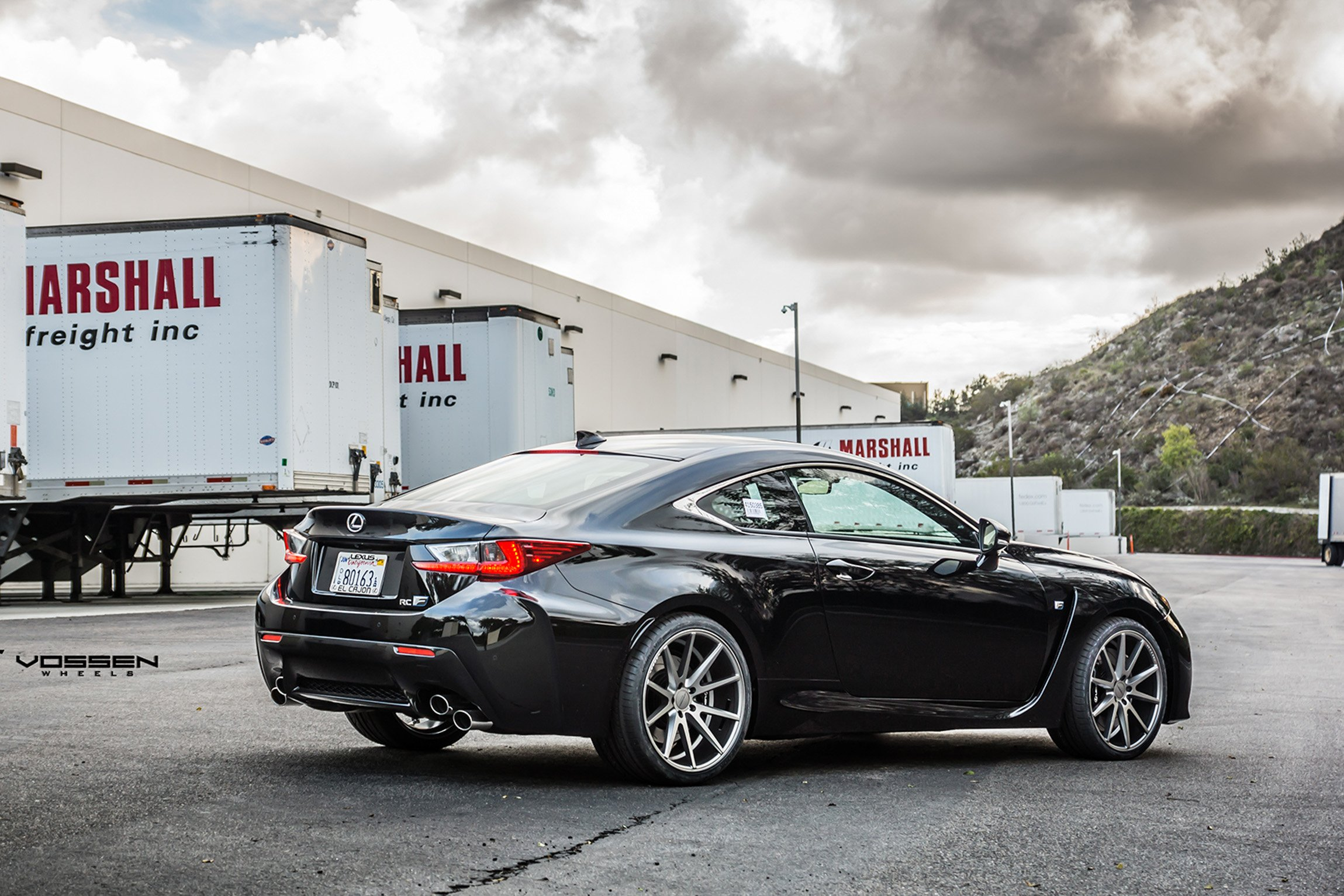 2015 Vossen Lexus Rf C Cars Coupe Tuning Wheels Wallpaper