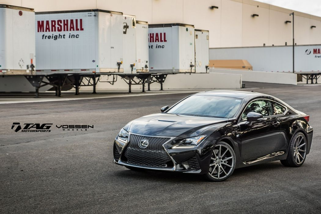 2015 vossen lexus rf-c cars coupe Tuning wheels wallpaper