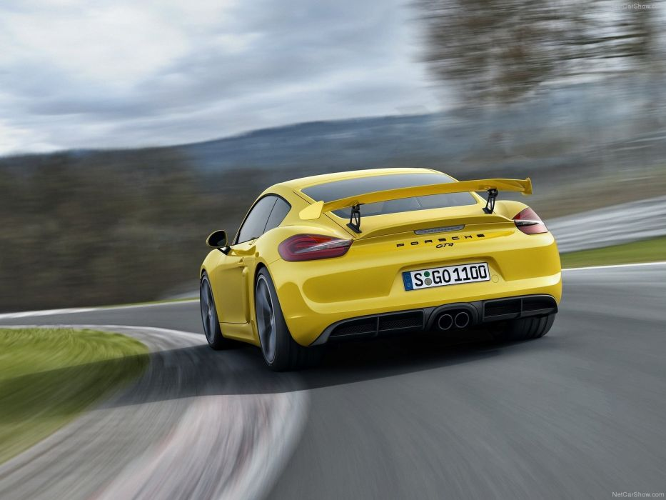 Porsche Cayman GT4 coupe cars 2016 wallpaper