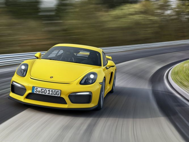 Porsche Cayman GT4 coupe cars 2016 wallpaper