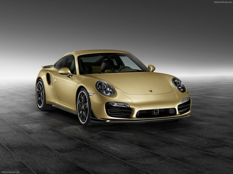 Porsche 911 Turbo Aerokit coupe cars 2015 wallpaper