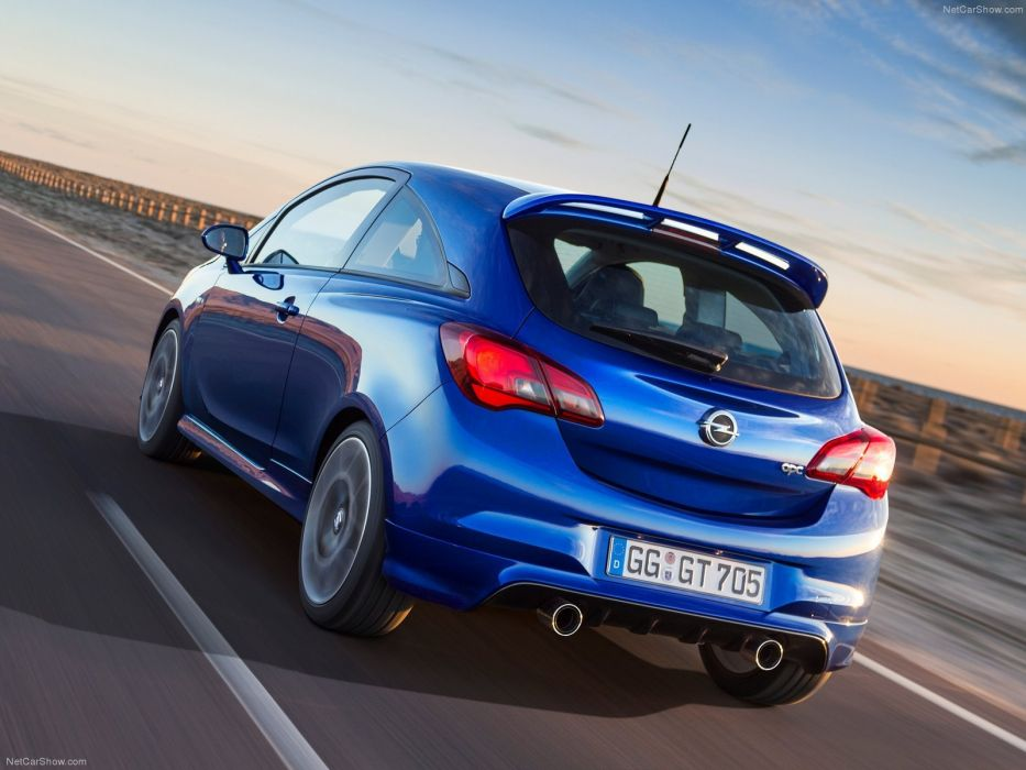 Opel Corsa OPC cars 2016 wallpaper