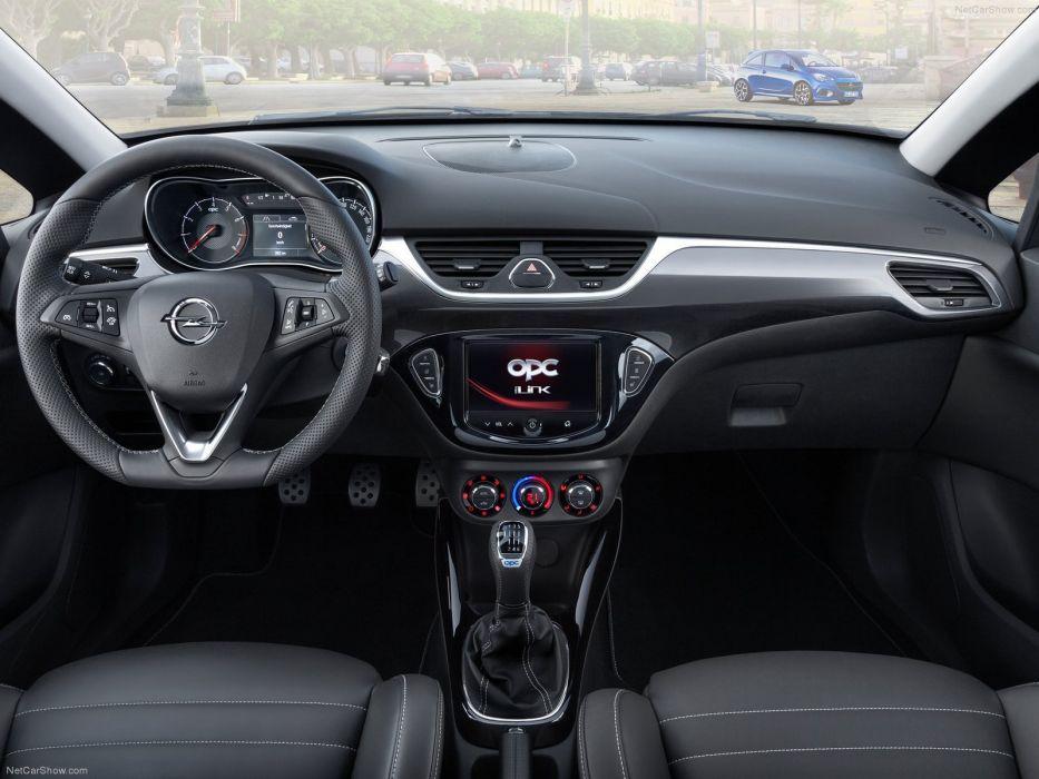Opel Corsa OPC cars 2016 wallpaper