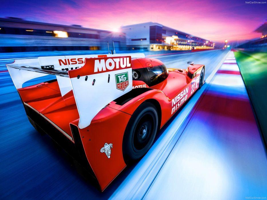 Nissan GT-R LM Nismo Racecar cars wallpaper