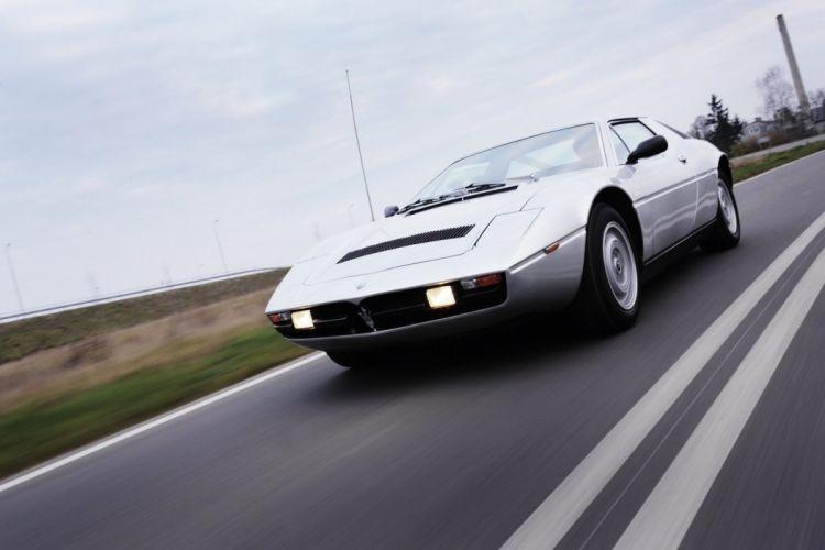 classic Maserati merak Supercar supercars wallpaper
