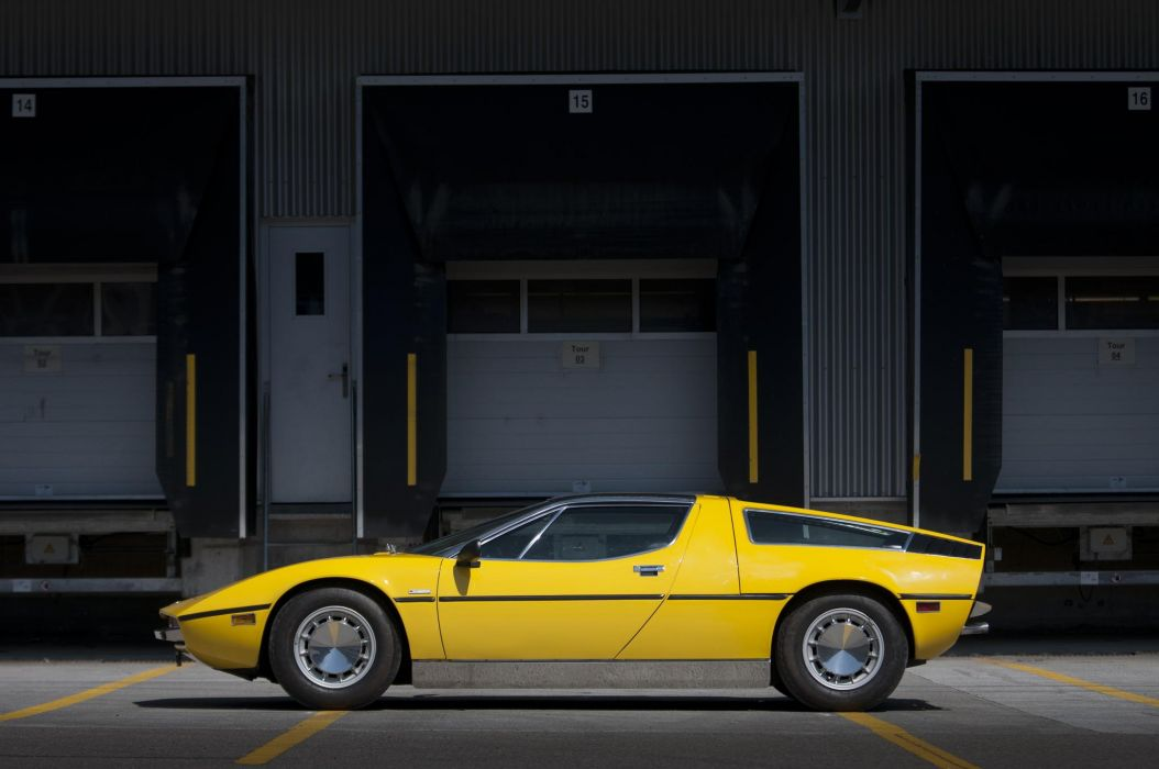 classic maserati bora Supercar supercars cars wallpaper