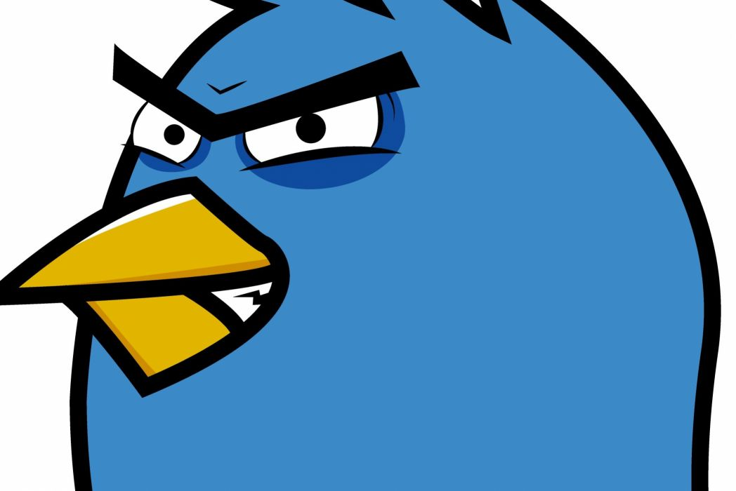 TWITTER social media computer internet poster angry birds wallpaper