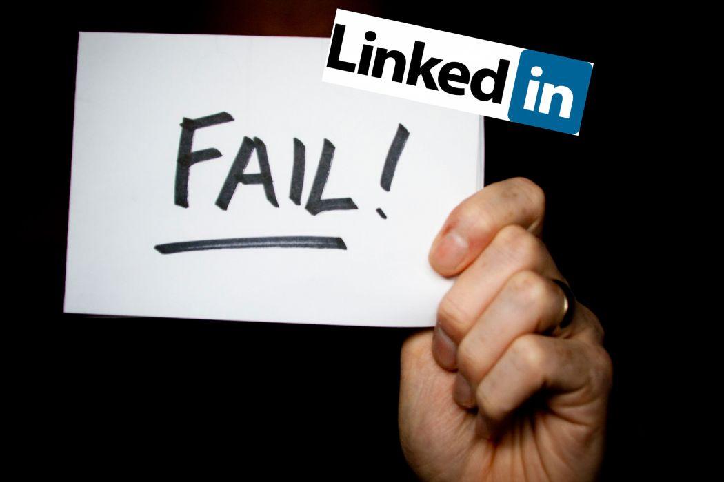 LINKEDin social media computer internet poster hack hacking hacker sadic fail wallpaper