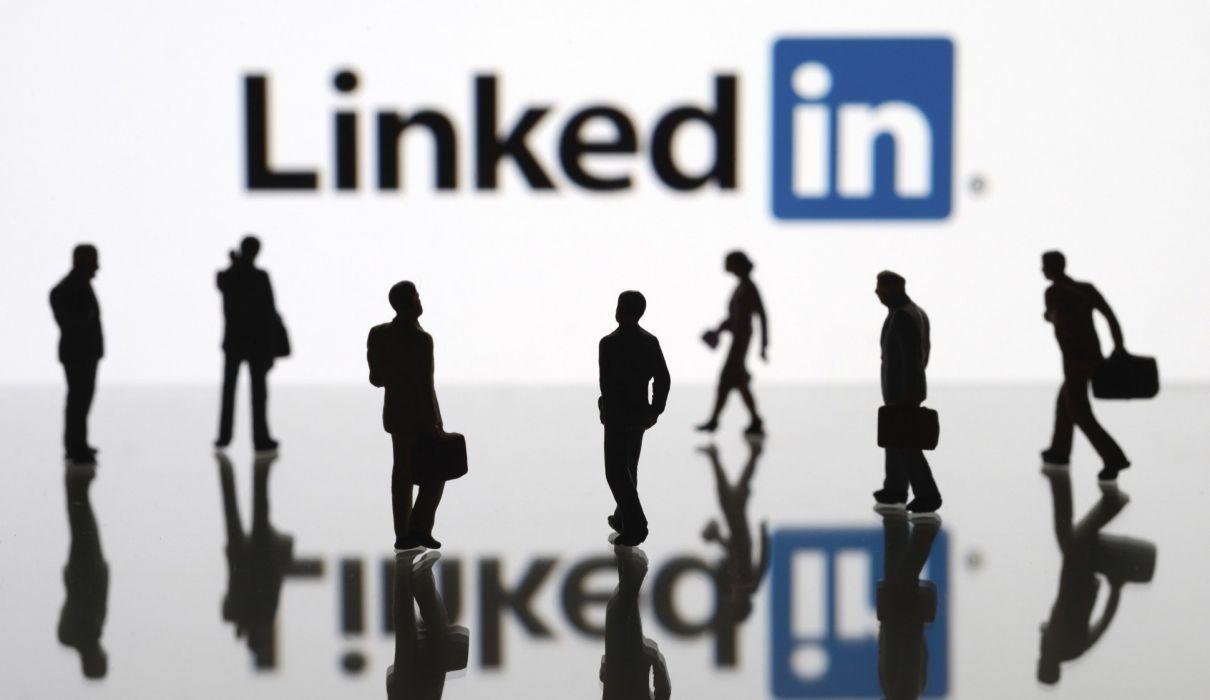 LINKEDin social media computer internet poster wallpaper