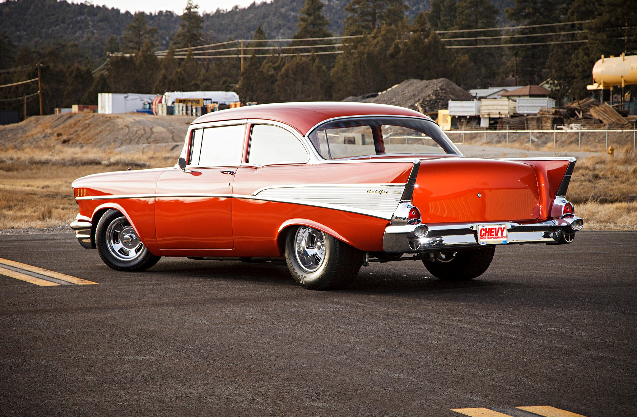 1957 Chevrolet Belair Hardtop-05 wallpaper