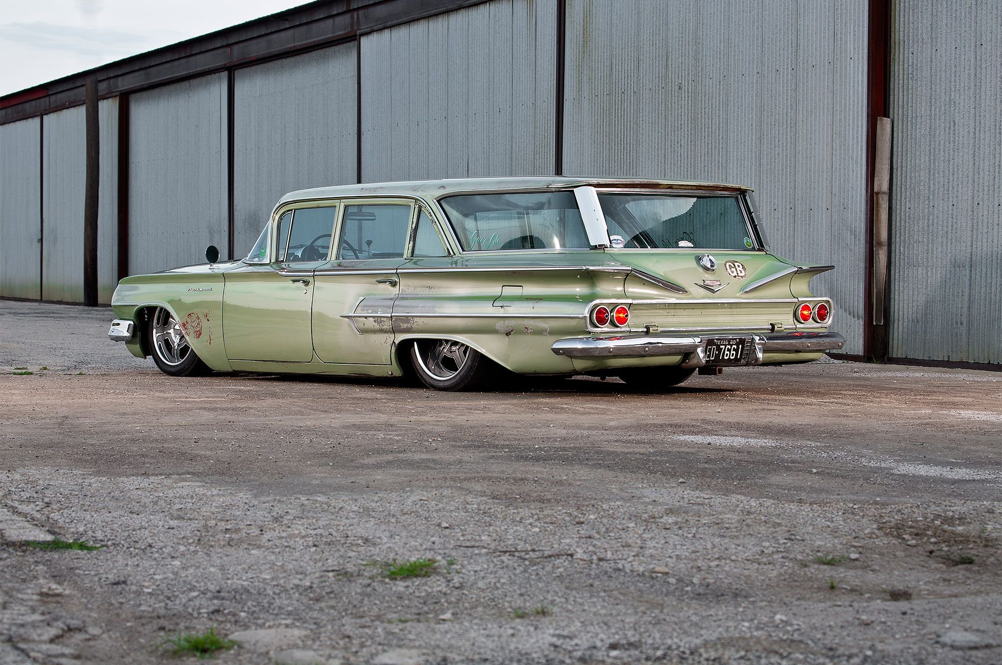1960 Chevrolet Wagon Parkwood-08 wallpaper