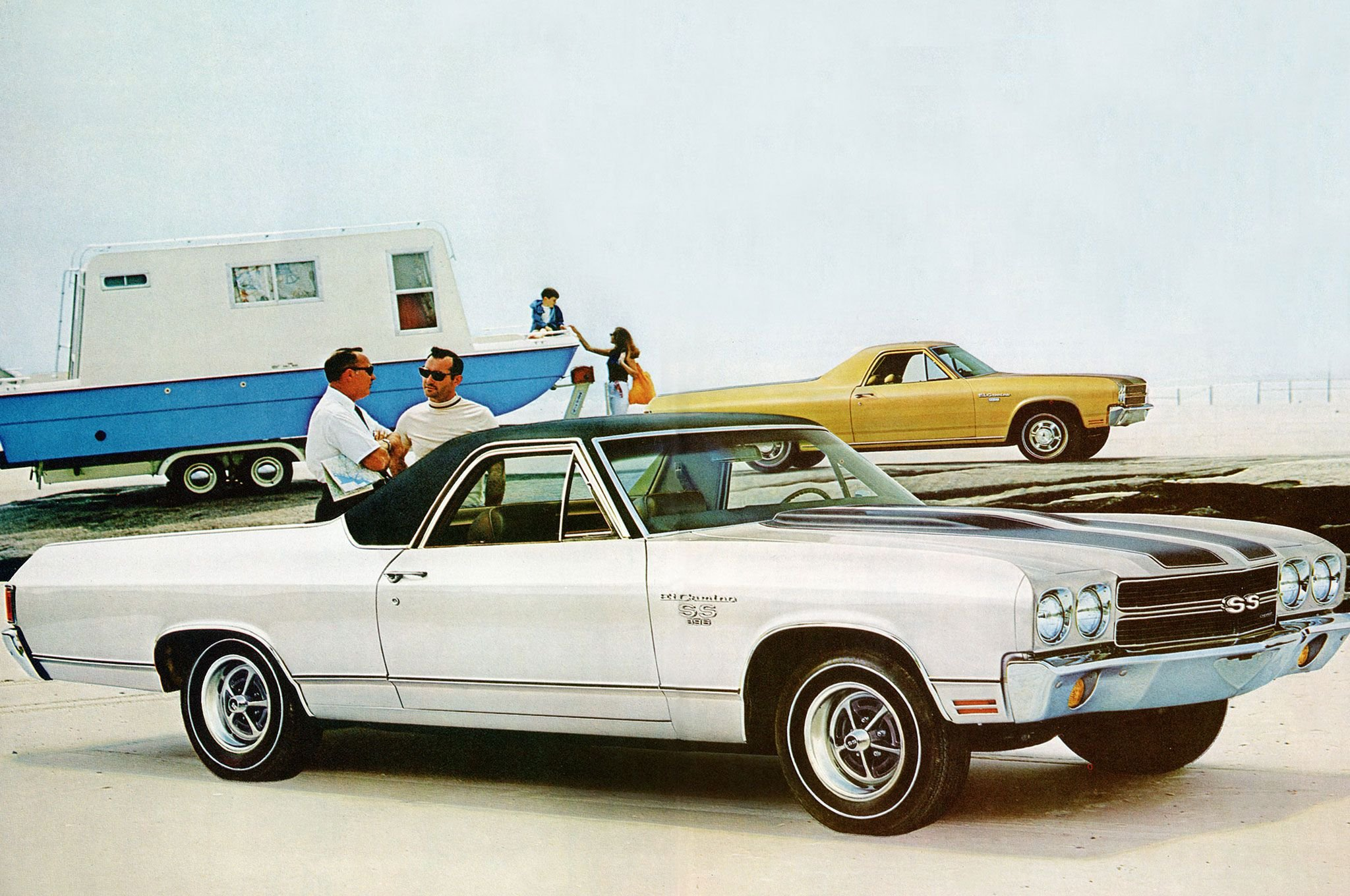 1970 Chevrolet Chevelle El Camino-01 wallpaper