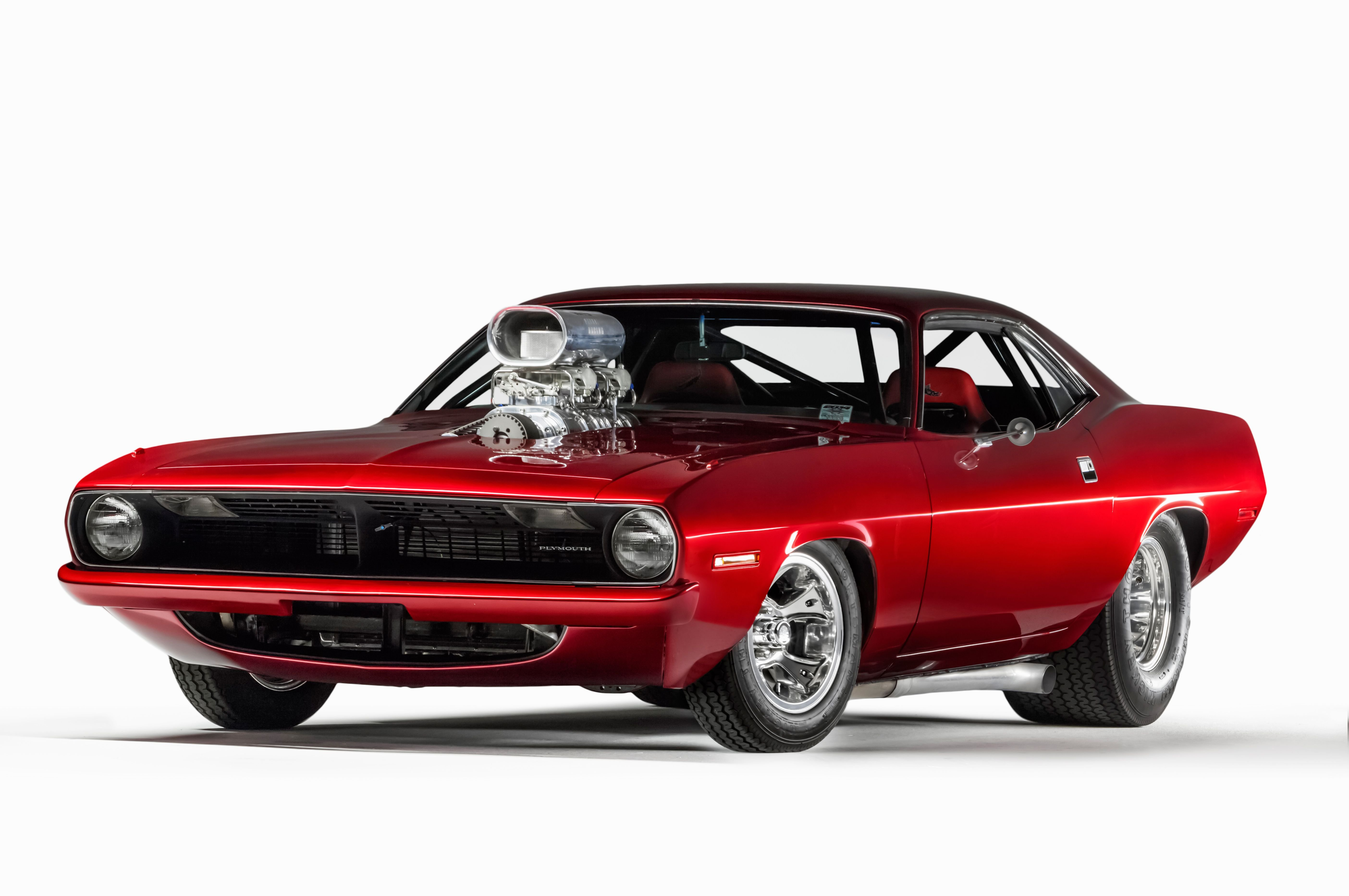 1970 Plymouth Barracuda Pro Street-01 wallpaper