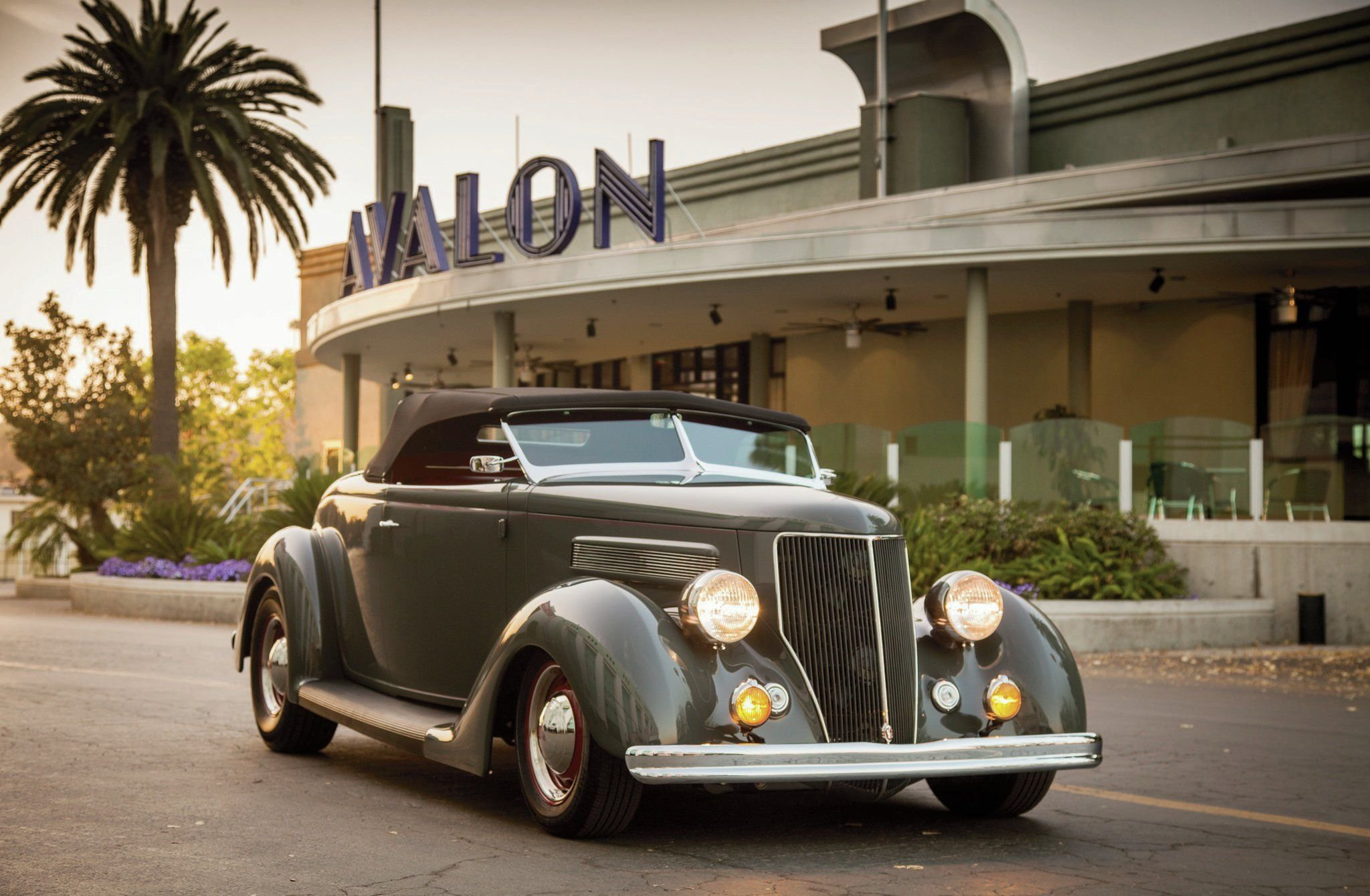 1936 Ford Deluxe Roadster-01 wallpaper