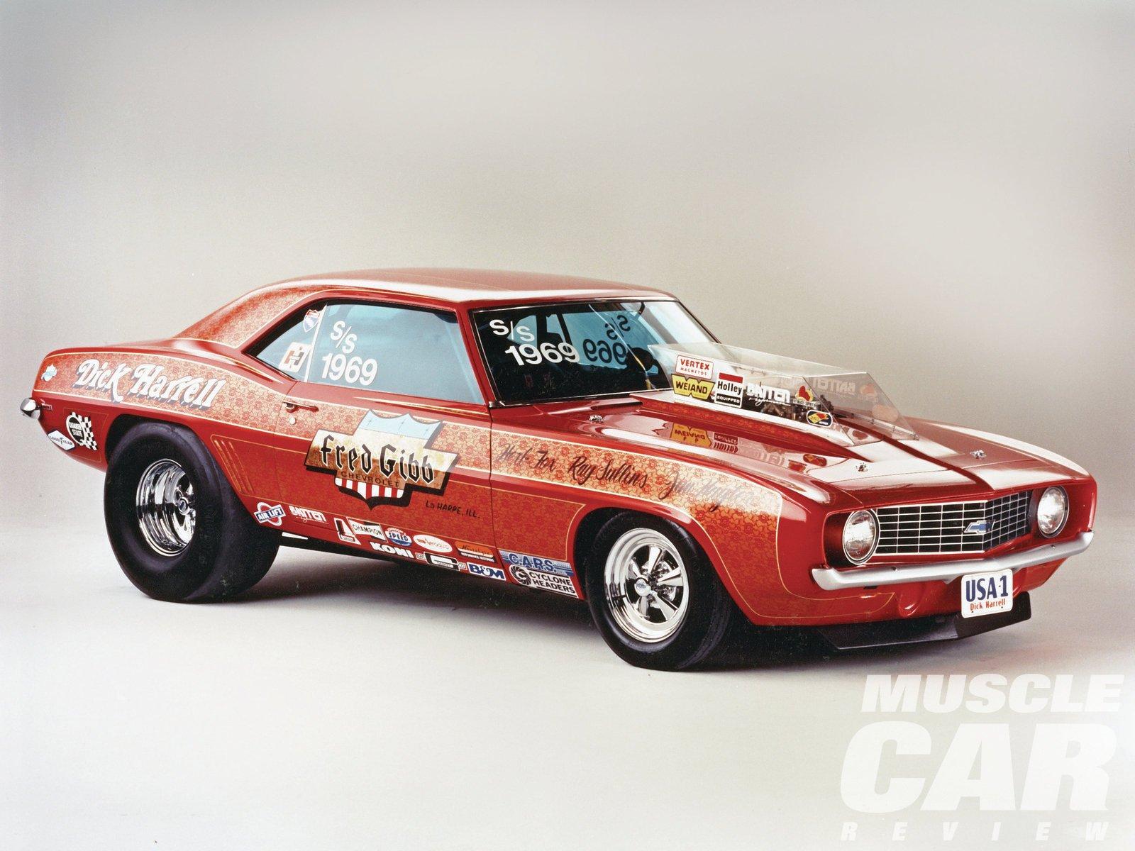 1969 Chvrolet Camaro Pro Street-01 wallpaper