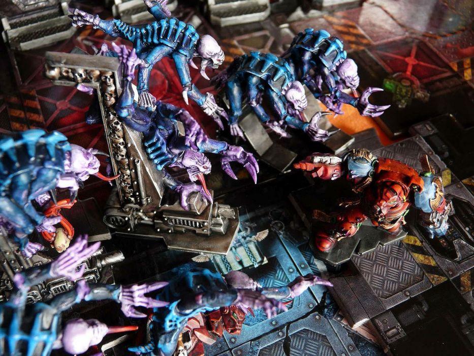 SPACE HULK Deathwing fantasy fighting warhammer action futuristic sci-fi warrior armor wallpaper