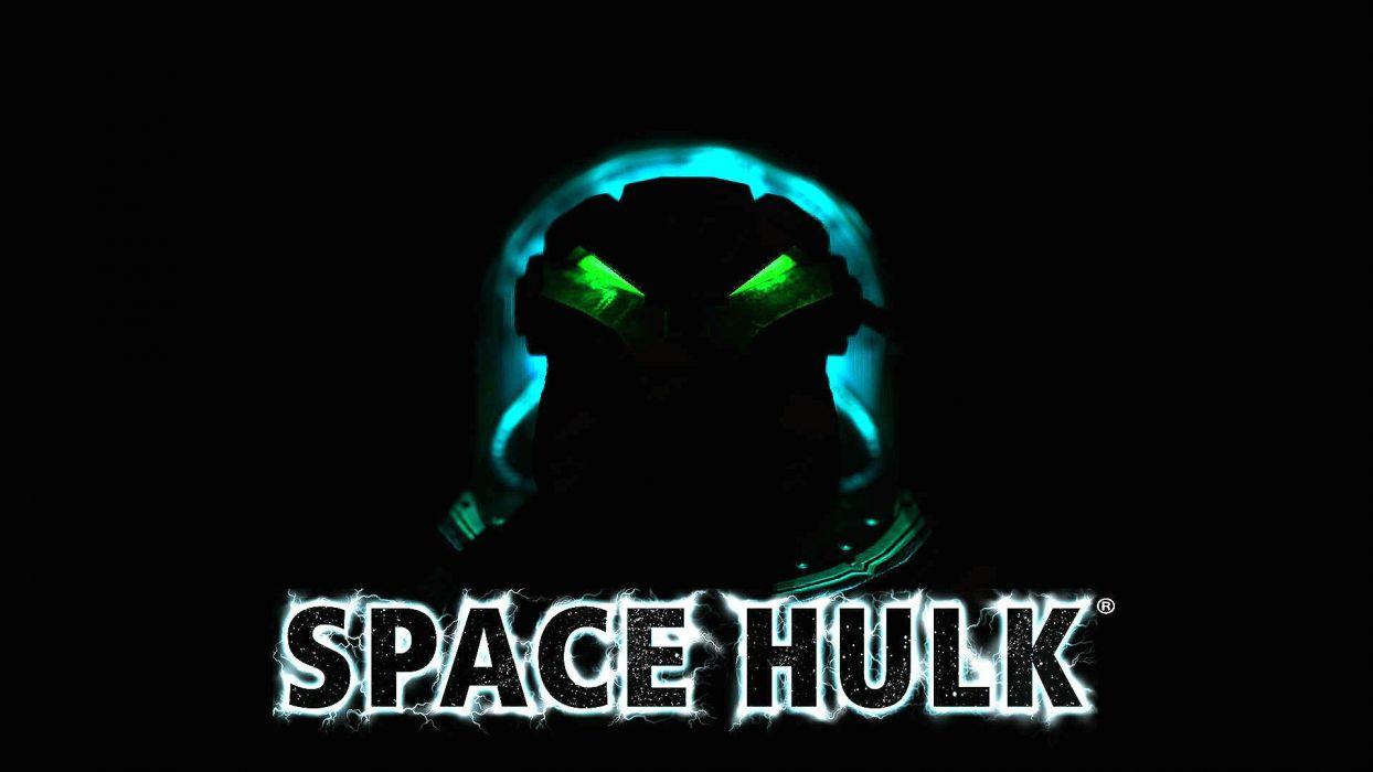 SPACE HULK Deathwing fantasy fighting warhammer action futuristic sci-fi warrior armor poster wallpaper