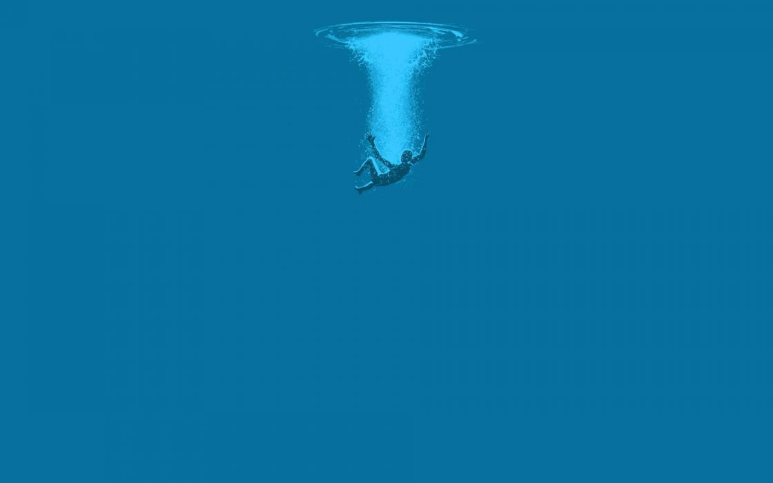 falling-into-the-water-minimalistic-hd-wallpaper-1920x1200-1692 wallpaper