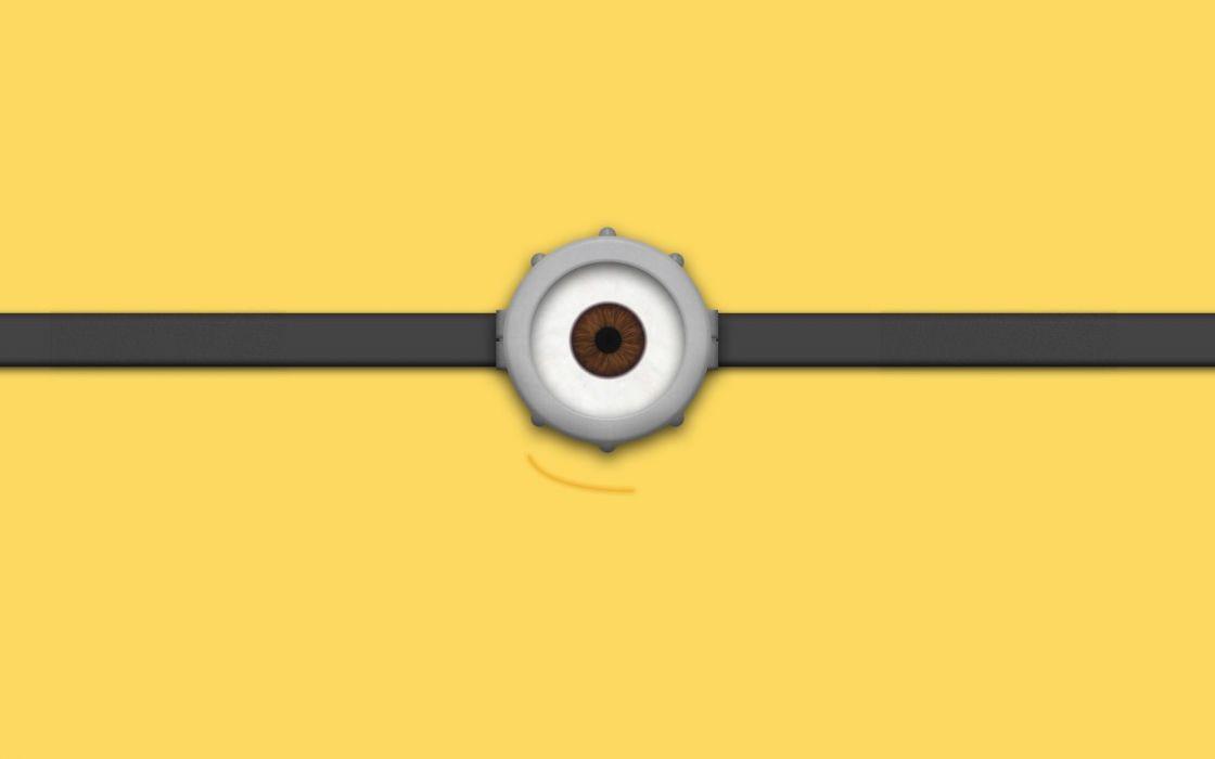 minion-eye-minimalistic-hd-wallpaper-1920x1200-2849 wallpaper