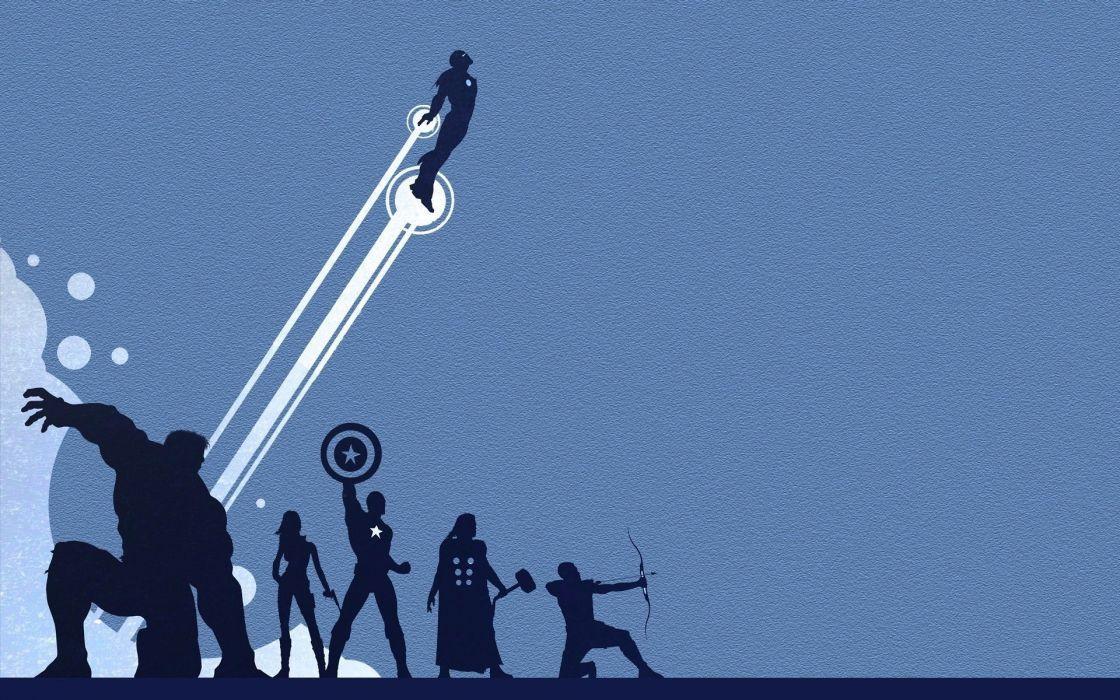 the-avengers-silhouette-minimalistic-hd-wallpaper-1920x1200-6246 wallpaper