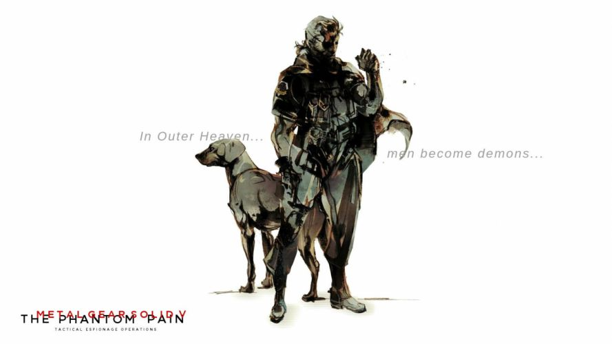 METAL GEAR SOLID Phantom Pain shooter stealth action military fighting tactical warrior weapon gun poster wallpaper