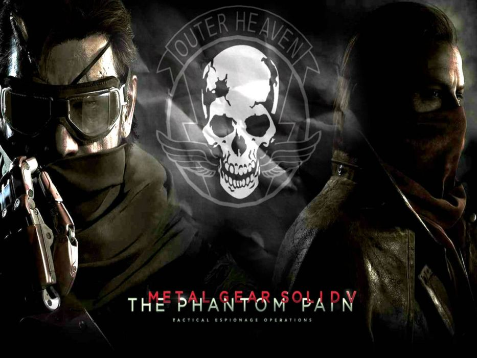 METAL GEAR SOLID Phantom Pain shooter stealth action military fighting tactical warrior poster wallpaper