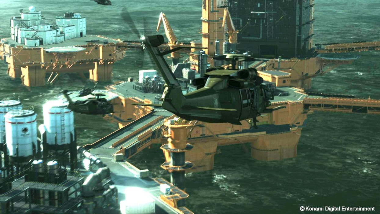 METAL GEAR SOLID Phantom Pain shooter stealth action military fighting tactical helicopter wallpaper