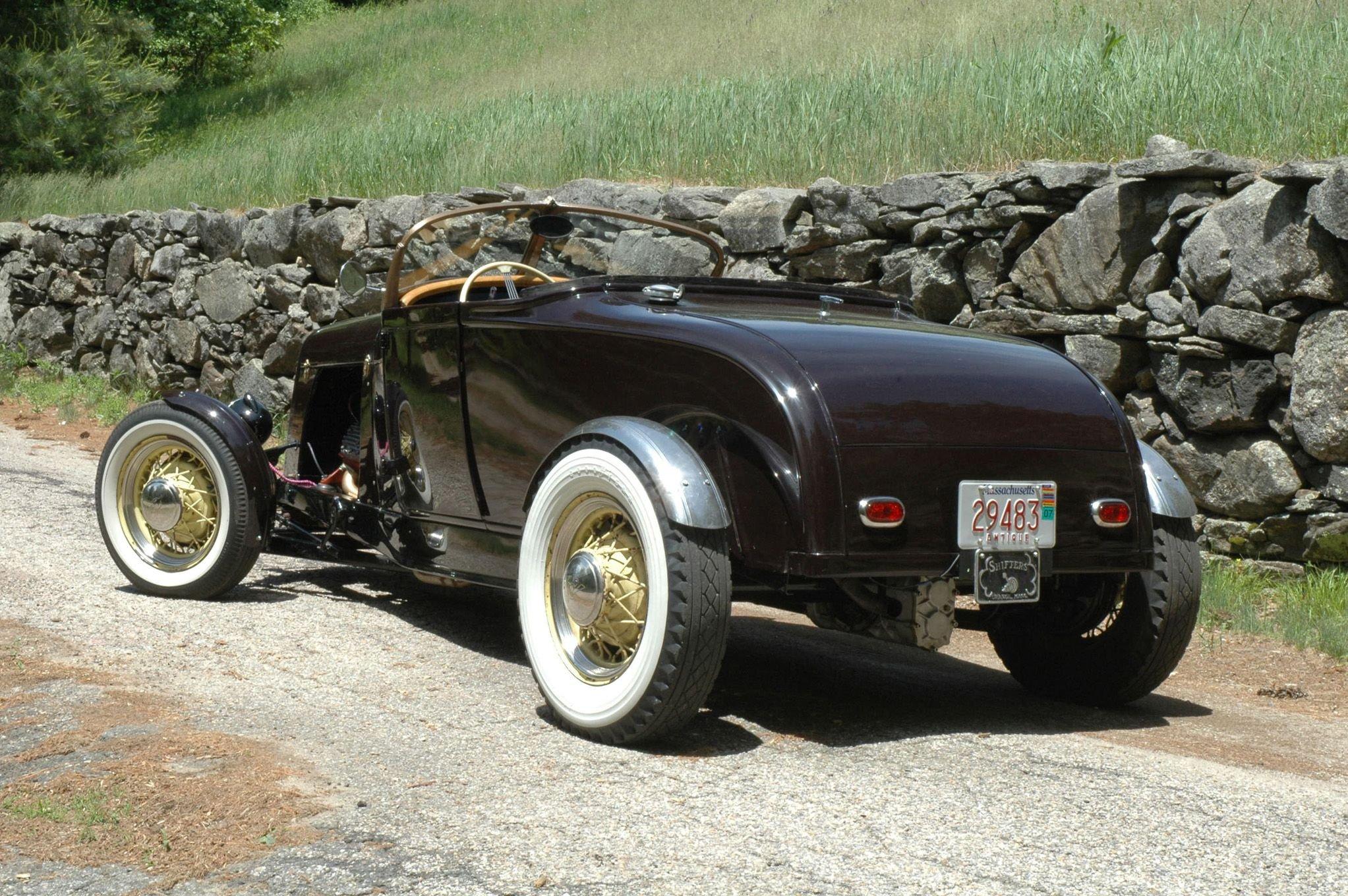 1929 Ford Model A Roadster-02 wallpaper
