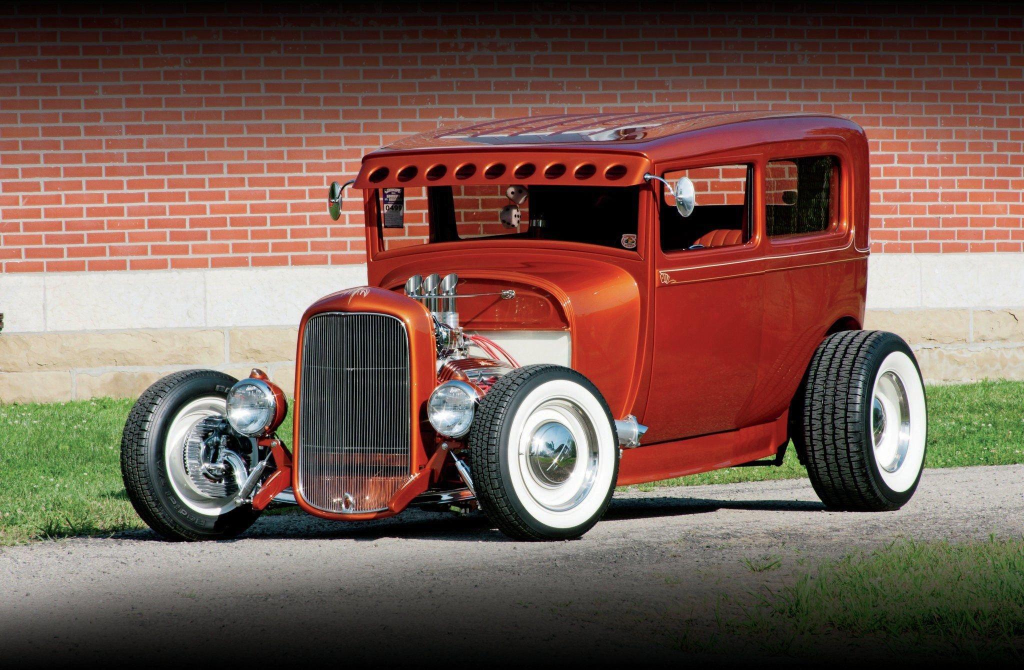 1929 Ford Model A Tudor Sedan-01 wallpaper