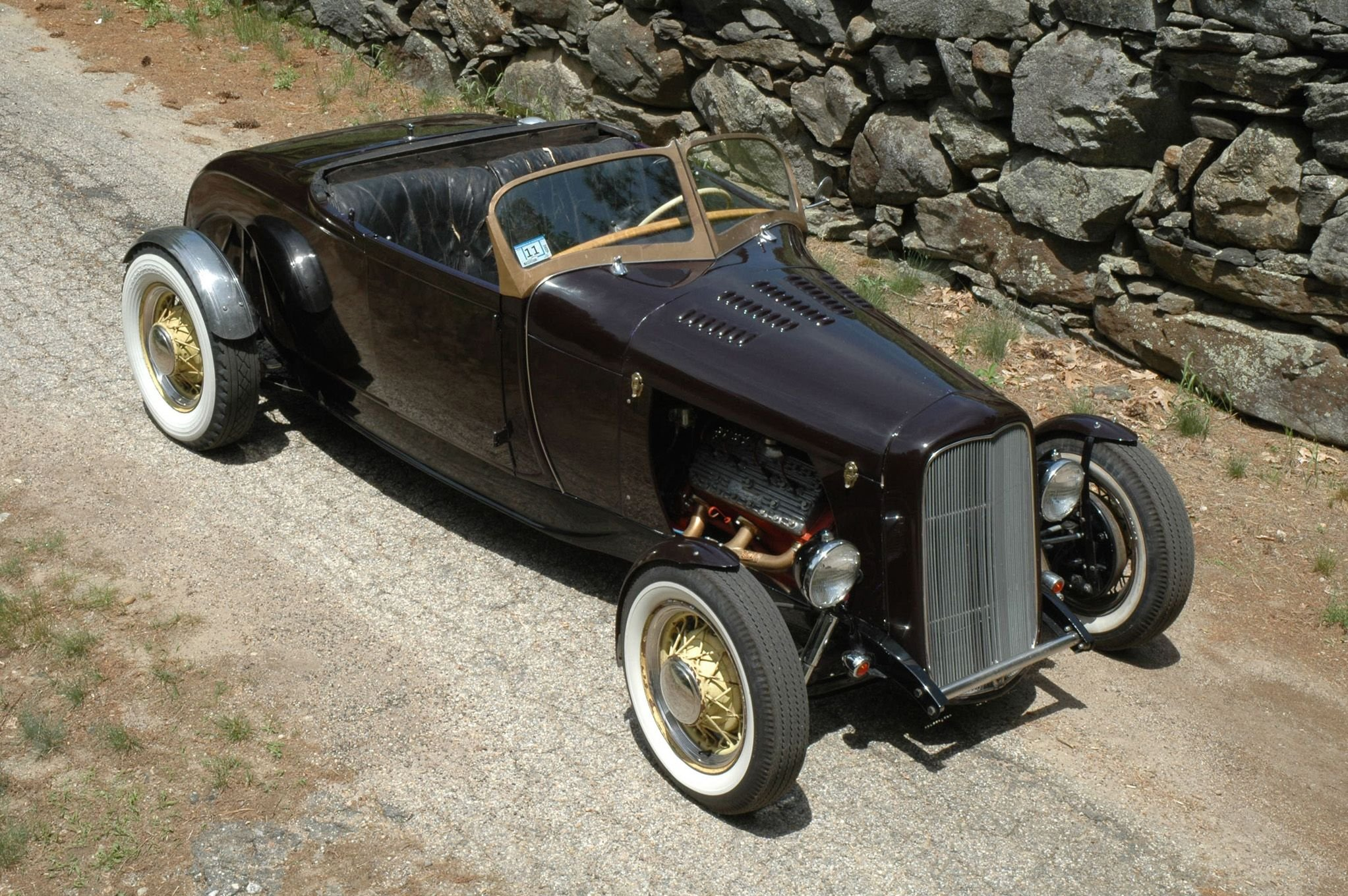 1929 Ford Model A Roadster-01 wallpaper