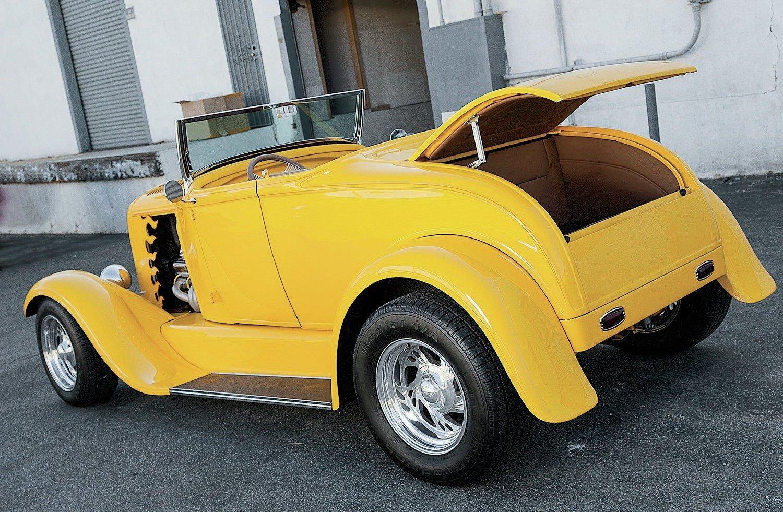 1931 Ford Model A Roadster-04 wallpaper