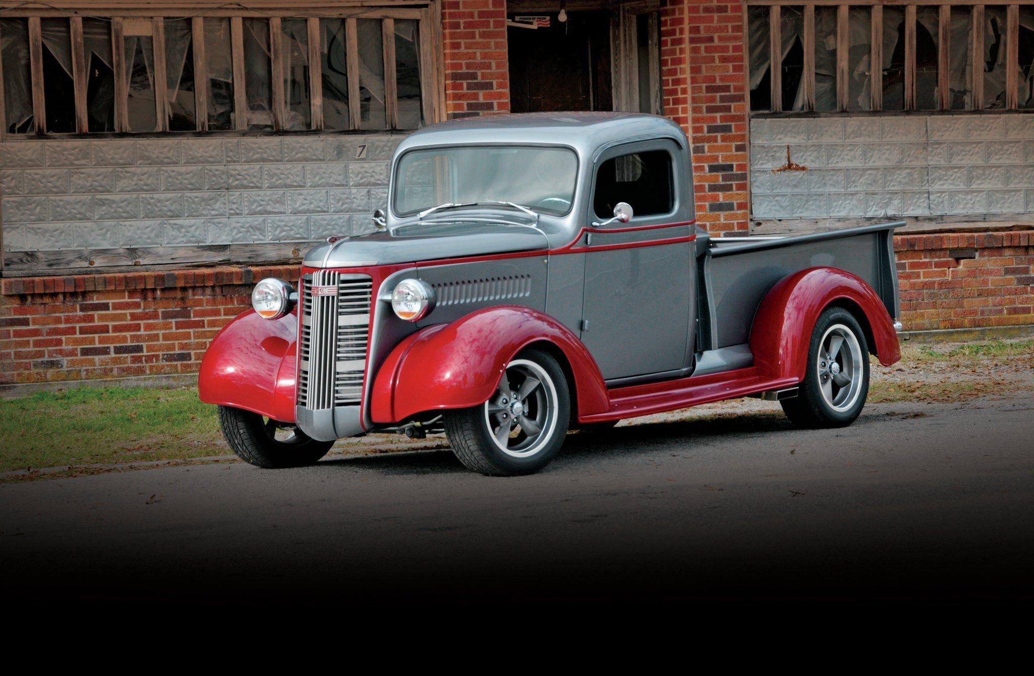 1937 GMC Truck-01 wallpaper