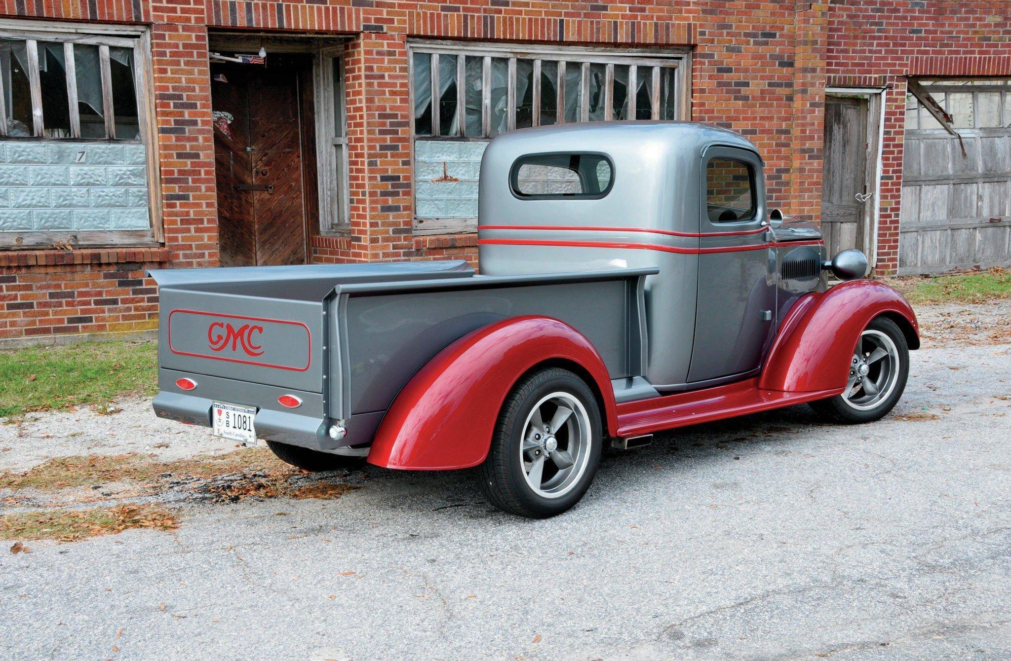 1937 GMC Truck-02 wallpaper