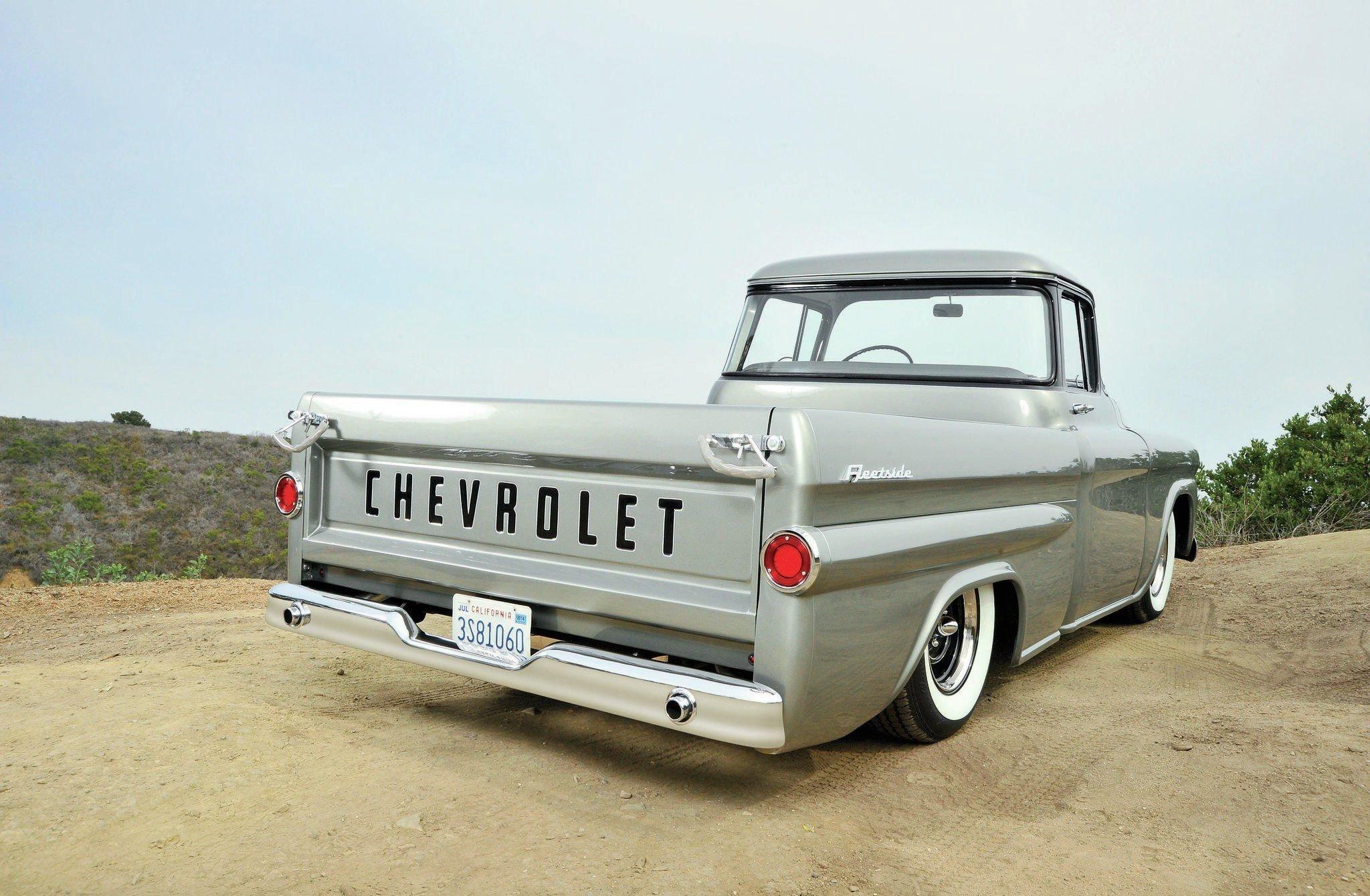 1959 Chevrolet Fleetside Pickup-02 wallpaper