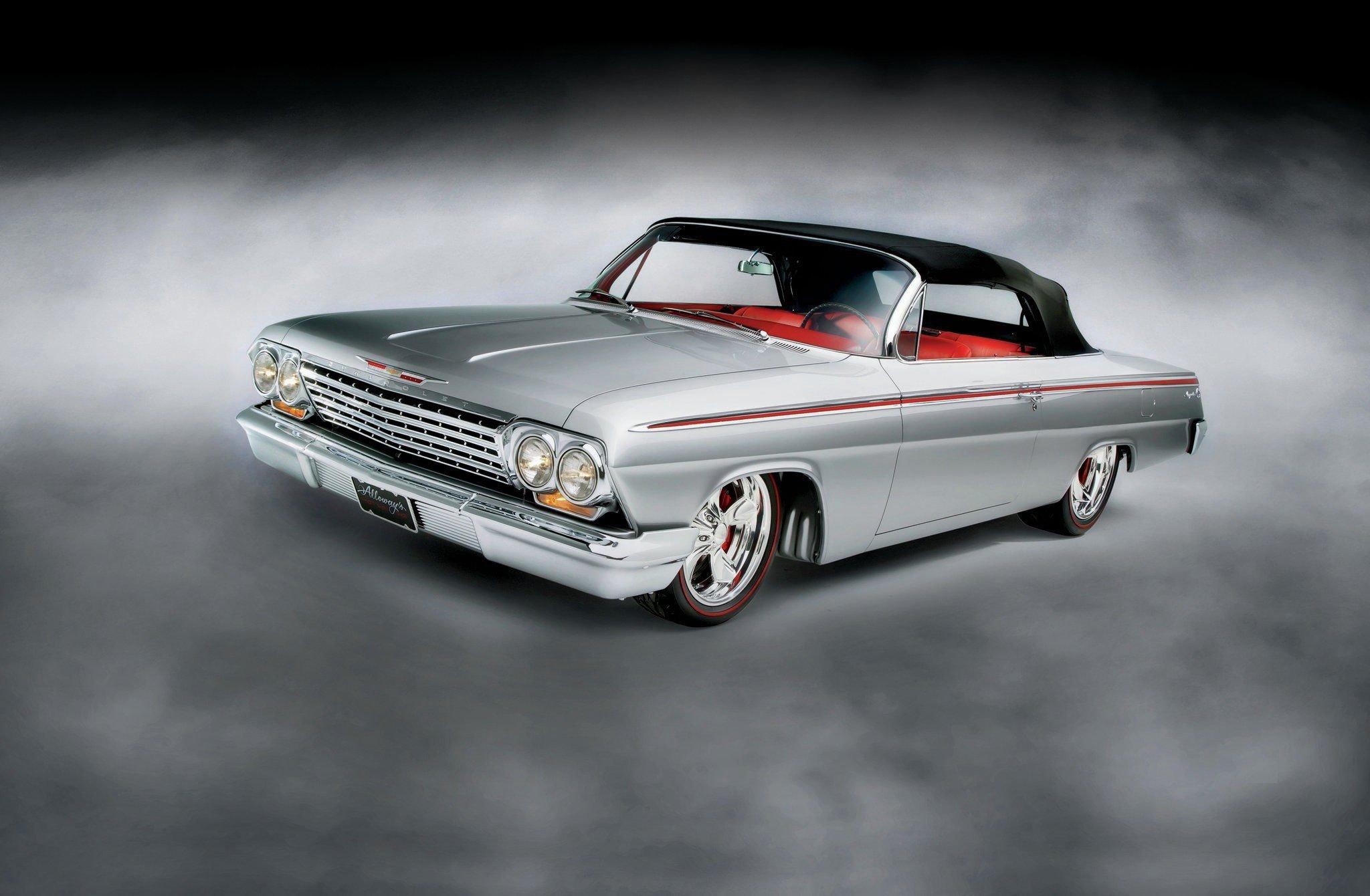 1962 Chevrolet Impala Convertible-01 wallpaper