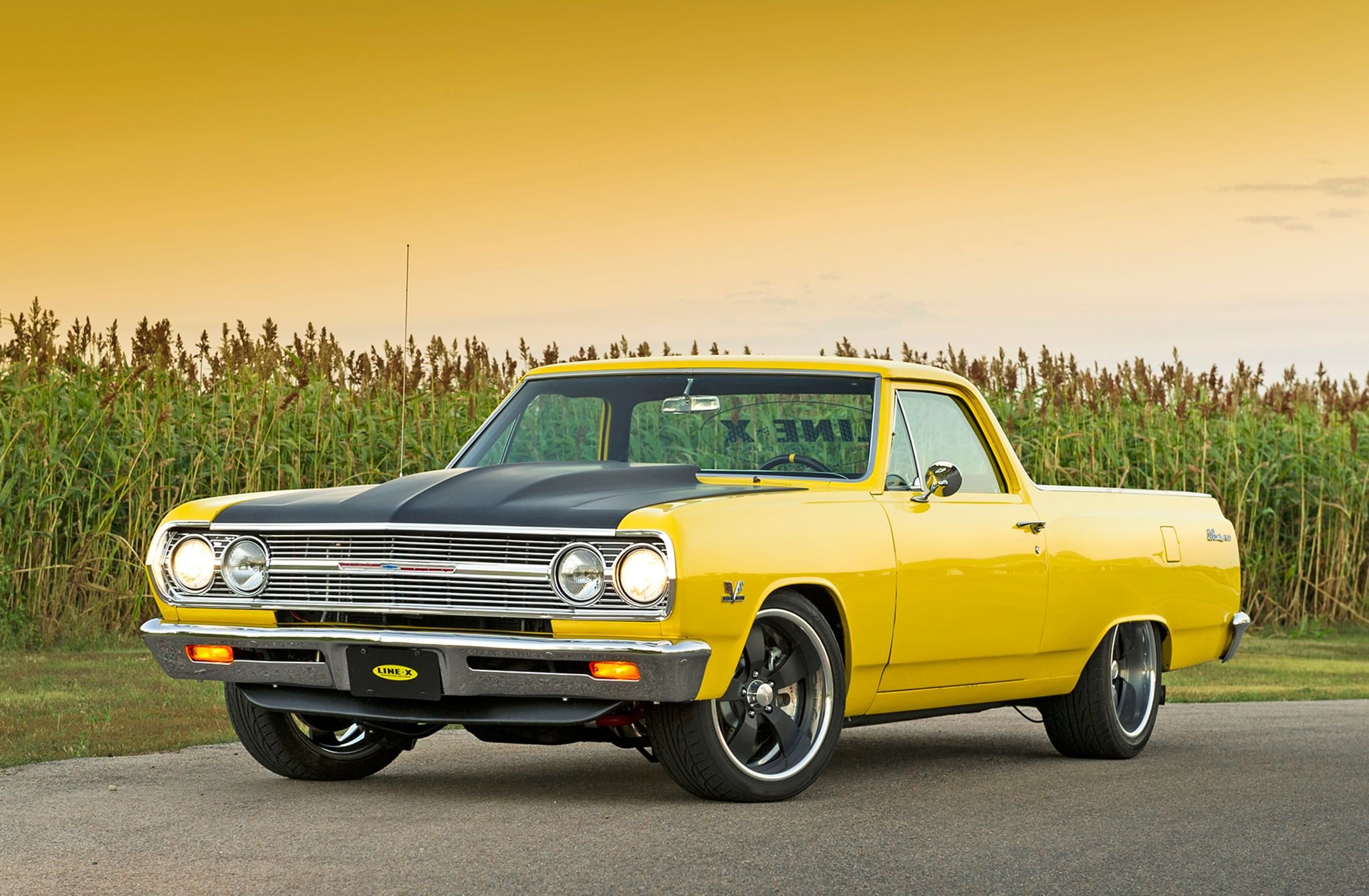1965 Chevrolet El Camino-01 wallpaper