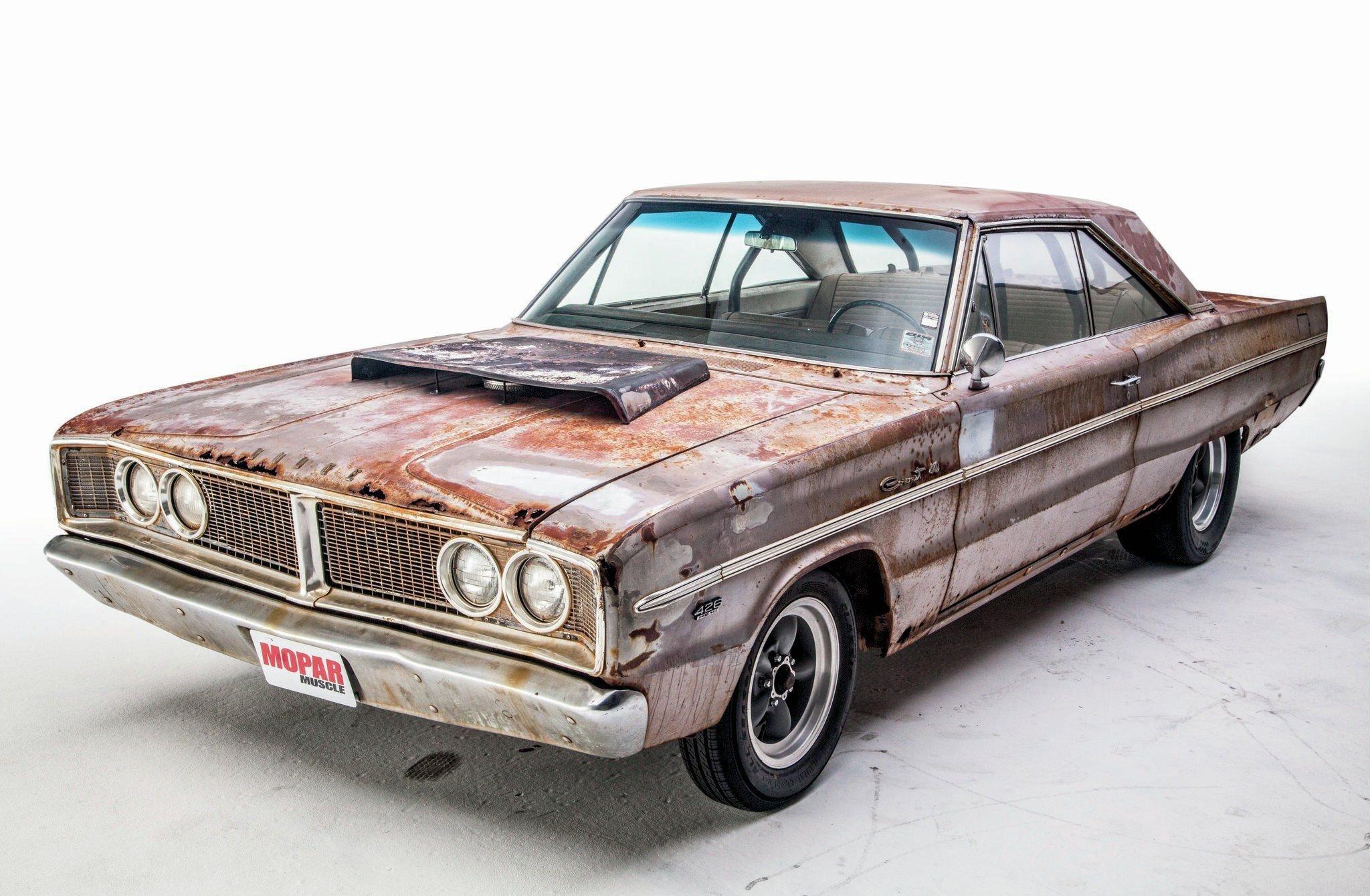 1966 Dodge Coronet Unrestored-01 wallpaper