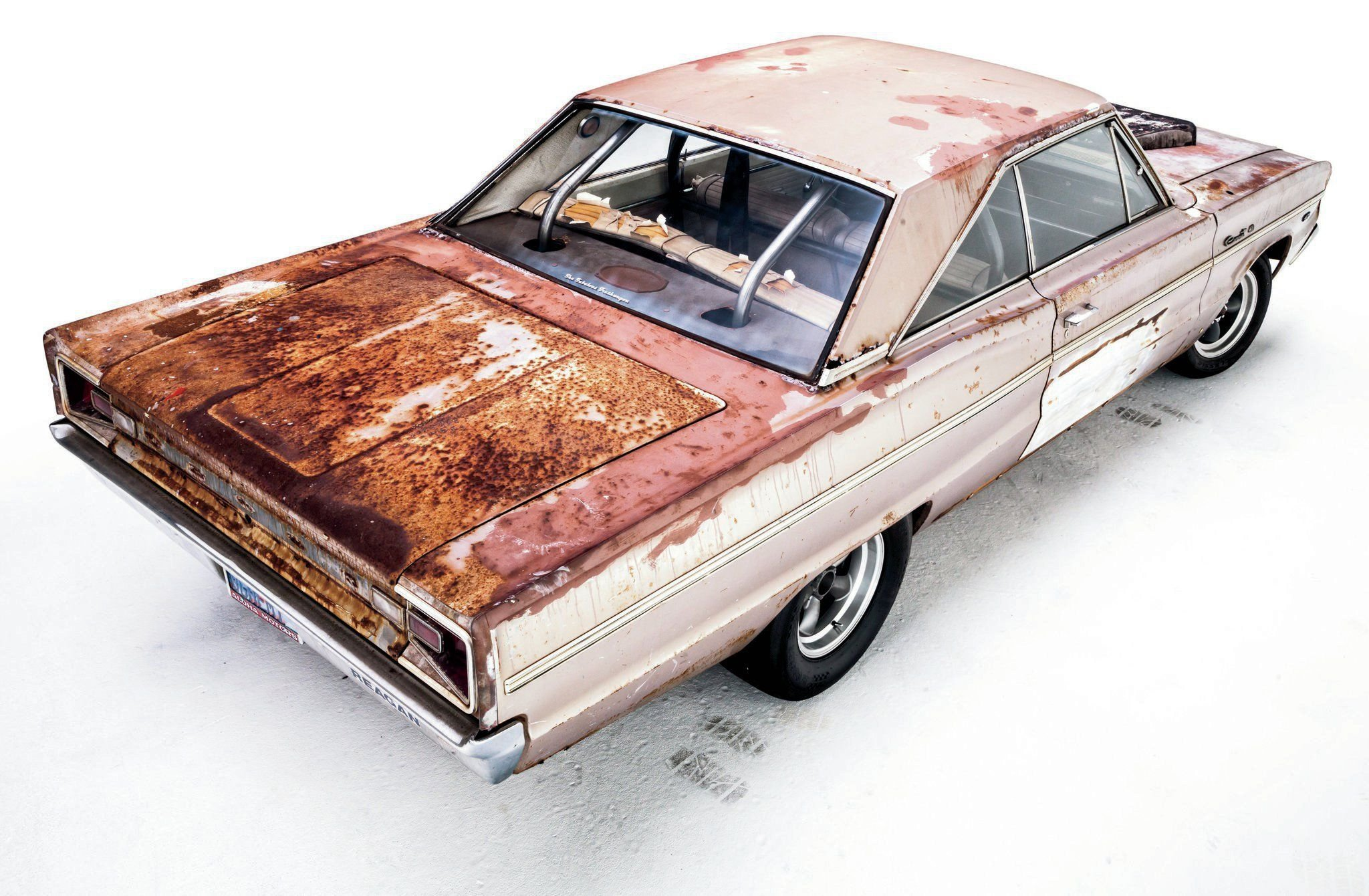 1966 Dodge Coronet Unrestored-03 wallpaper