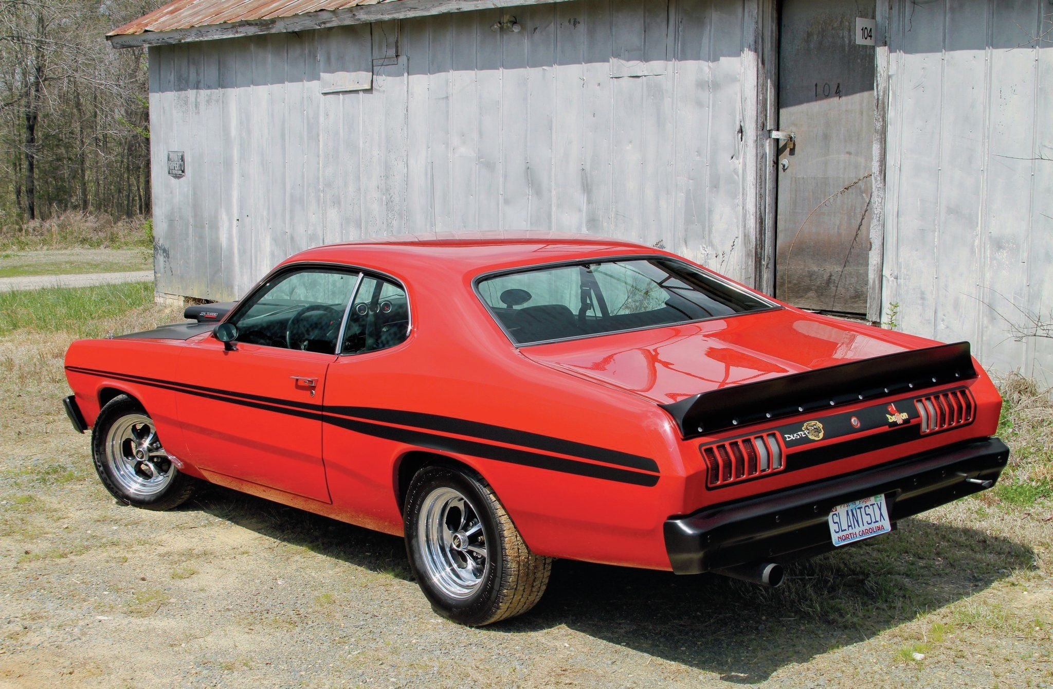 1974 Plymouth Duster-02 wallpaper