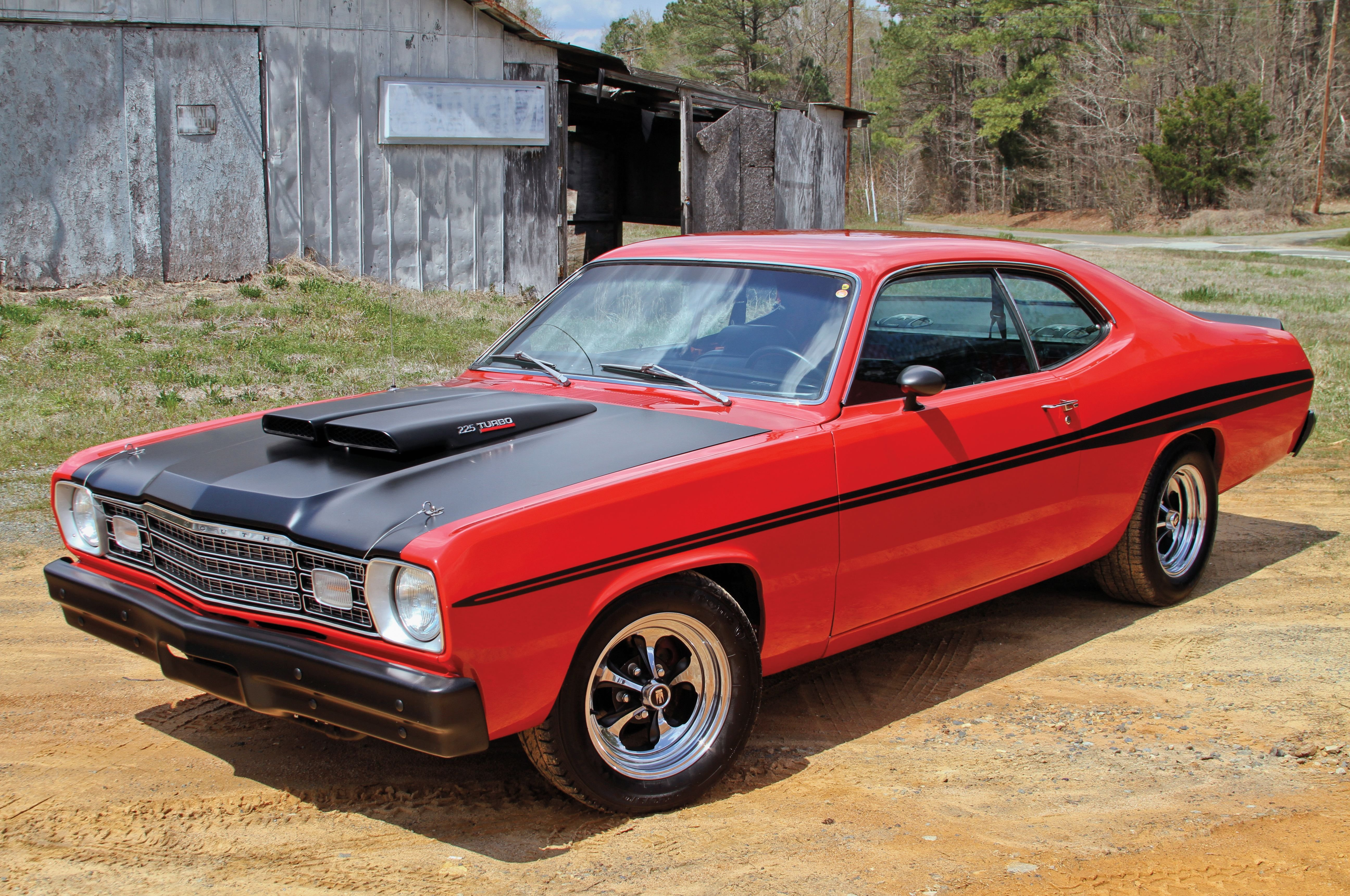 1974 Plymouth Duster-01 wallpaper