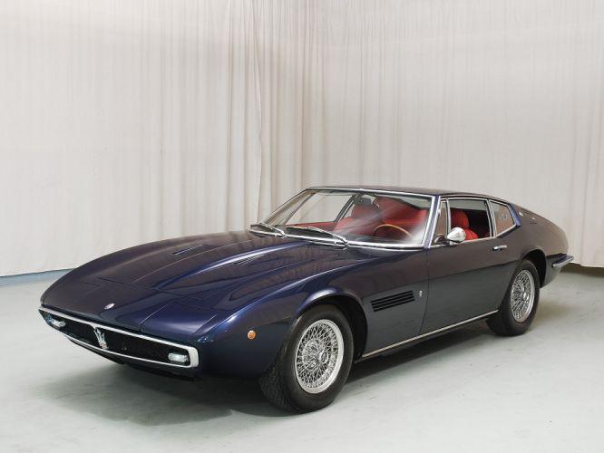 Maserati Ghibli coupe cars supercars classic wallpaper
