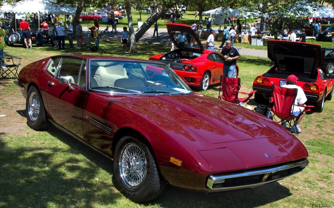 Maserati Ghibli coupe cars supercars classic wallpaper